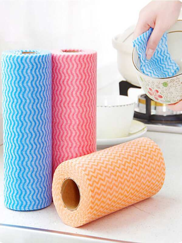 Random Color Cleaning Non-woven Fabric 50sheets