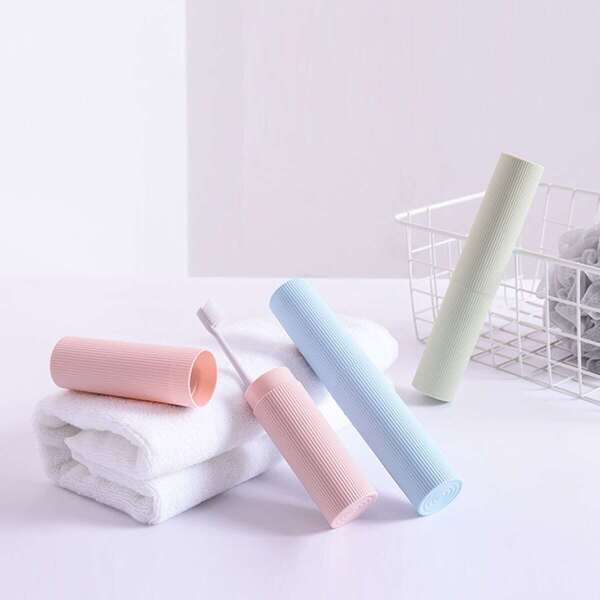 Solid Toothbrush Box 1pc