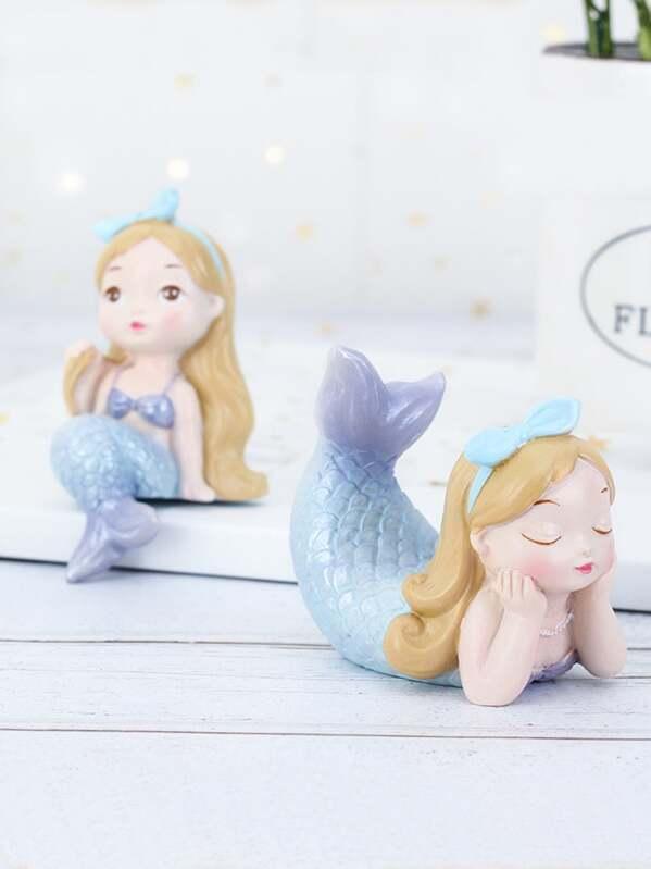 Mermaid Decorative Object 1pc, null