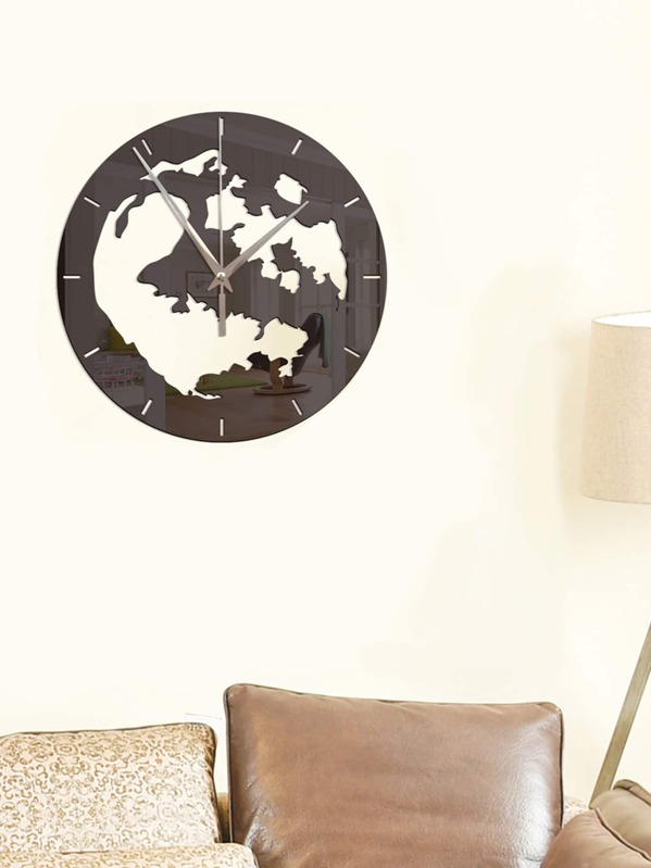 Round Hollow Wall Clock Art