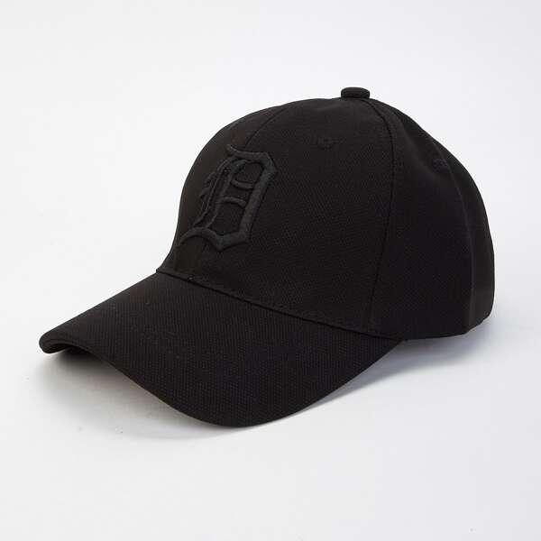 Men Embroidery Detail Baseball Cap