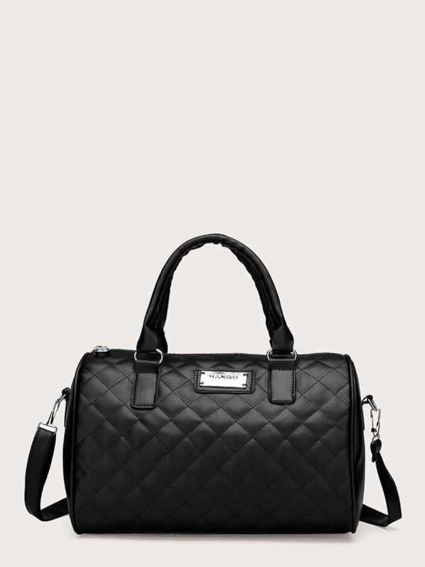 Quilted Detail Shoulder Bag