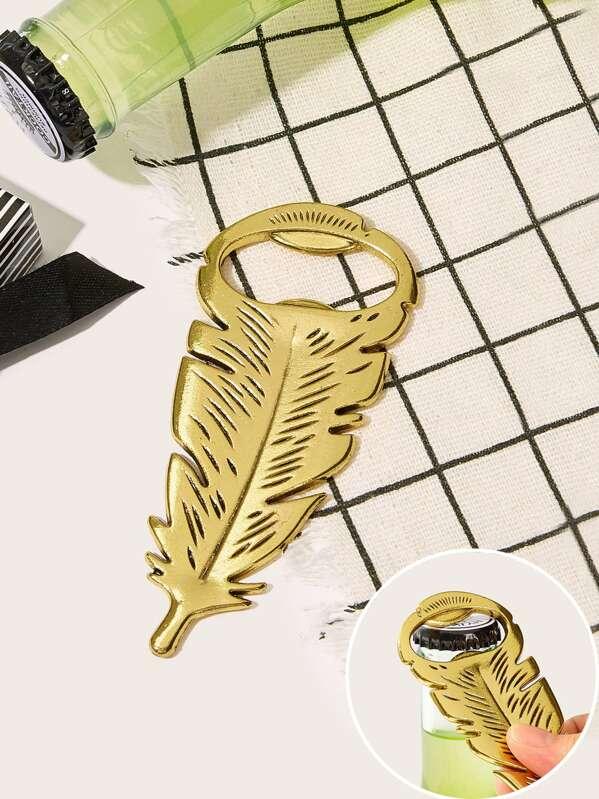 Feather Design Bottle opener 1pc