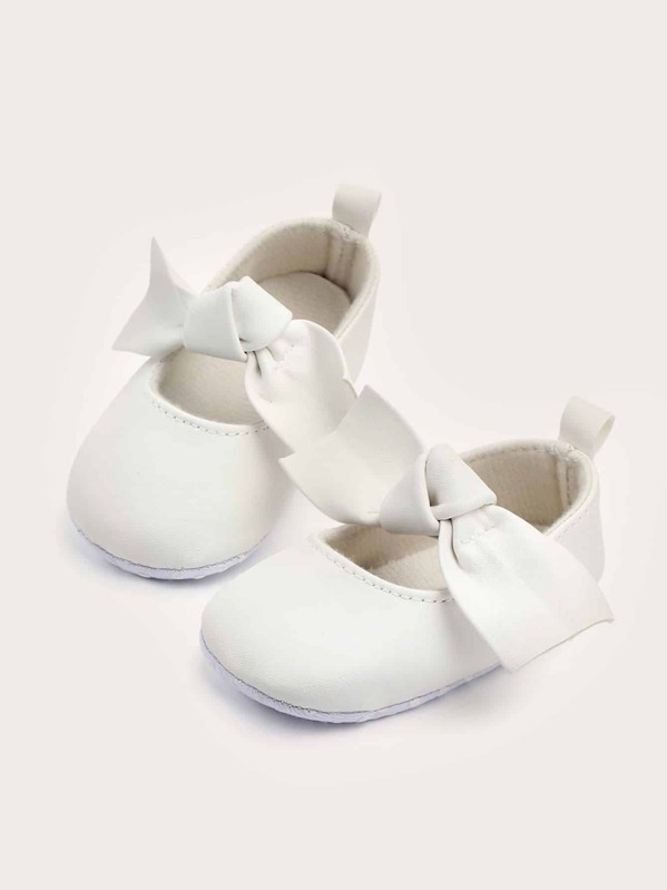 Baby Girls Bow Decor Flats, null