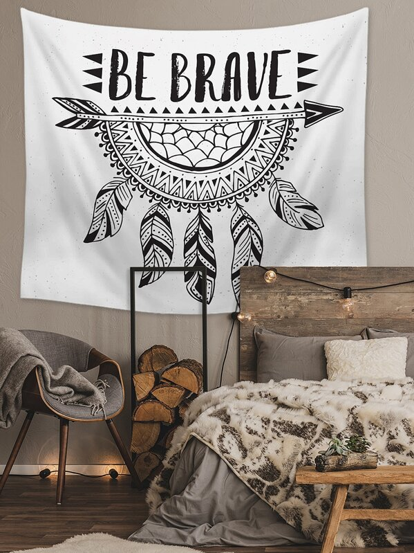 Dreamcatcher Print Tapestry, null