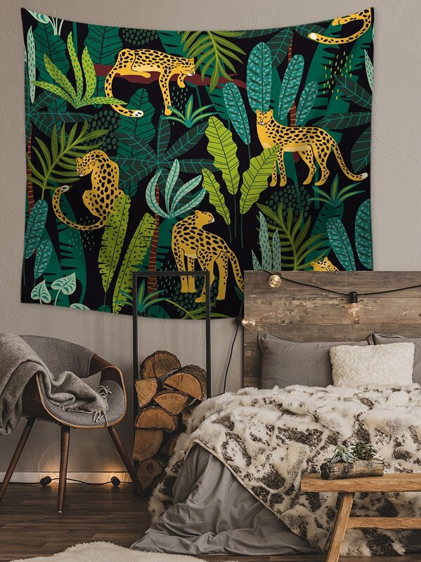 Leopard Print Tapestry, null