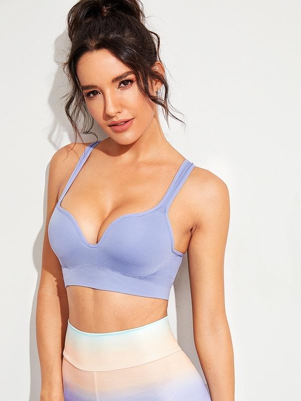 Solid Skinny Sports Bra, Juliana
