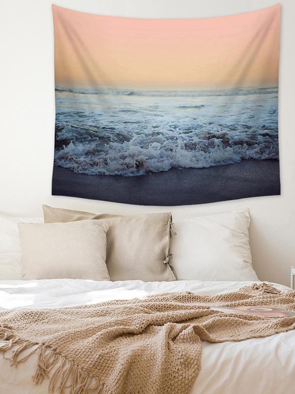 Sea Print Tapestry, null