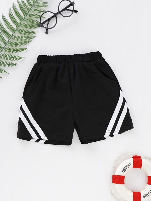 Toddler Boys Stripe Shorts, null