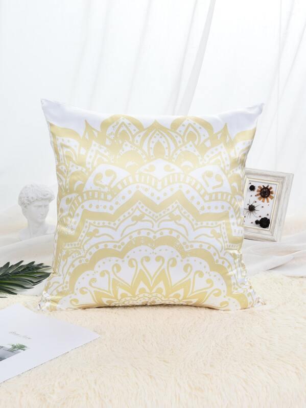 Lotus Print Pillowcase, null
