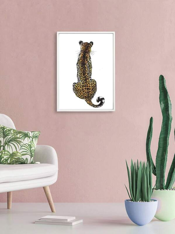 Leopard Print Wall Painting, null