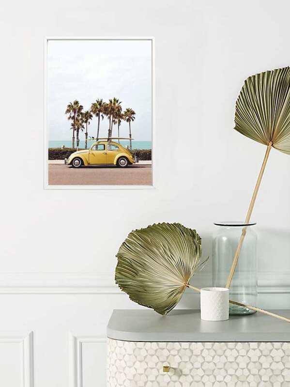 Car Print Wall Painting, null