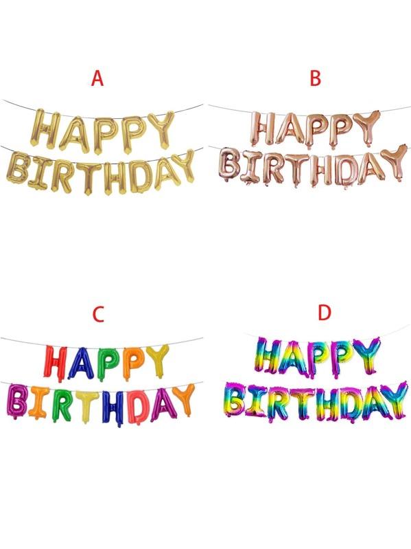 Birthday Decorative Balloon 1pc, null
