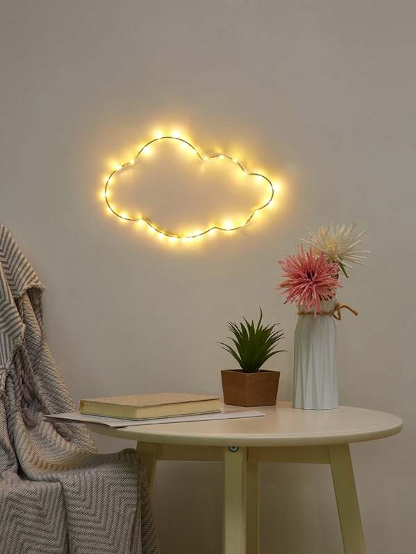 Cloud Shaped Iron Light, null
