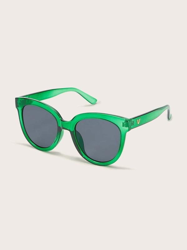 Kids Transparent Frame Tinted Lens Sunglasses, null