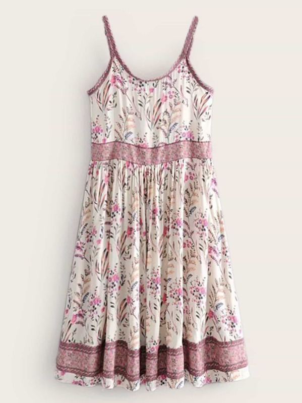 Ditsy Floral Print Cami Dress, null