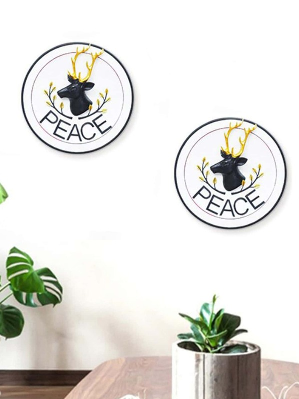 Elk Detail Wall Decor 1pc, null
