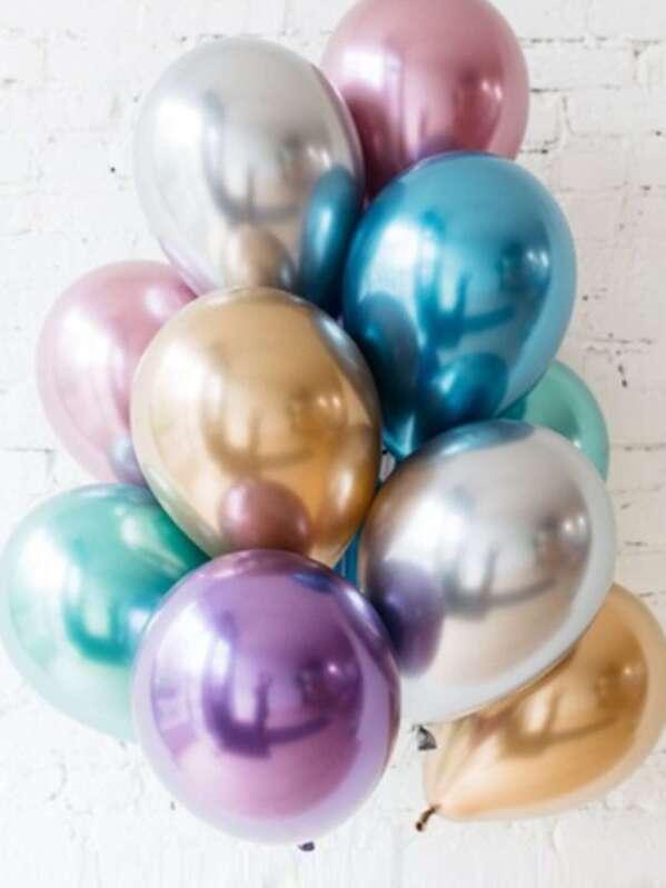 Solid Decorative Balloon 6pcs, null