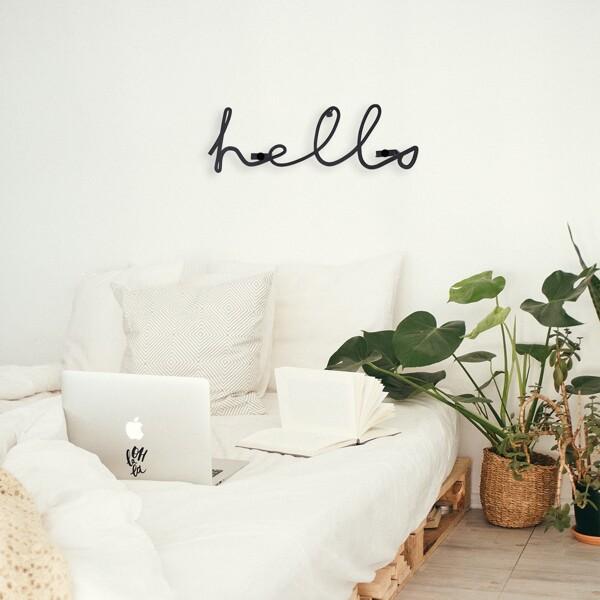 Letter Design Wall Decor 1pc