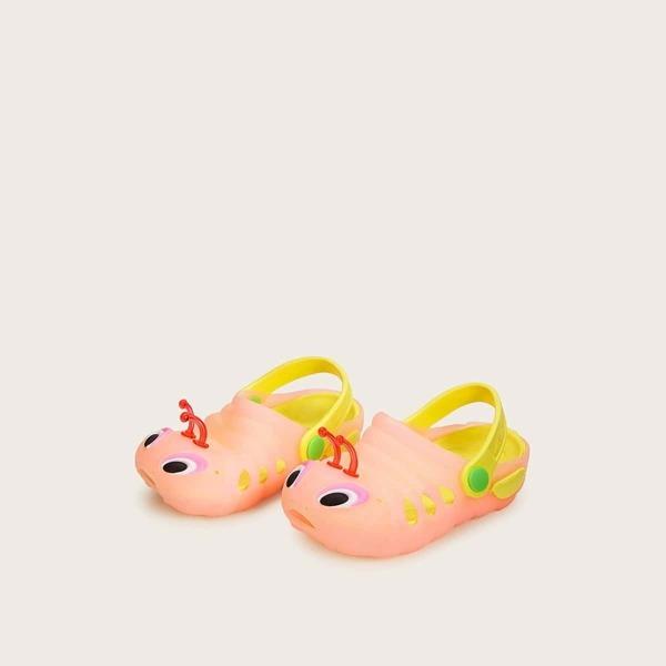 Toddler Girls Caterpillar Design Slingback Sandals
