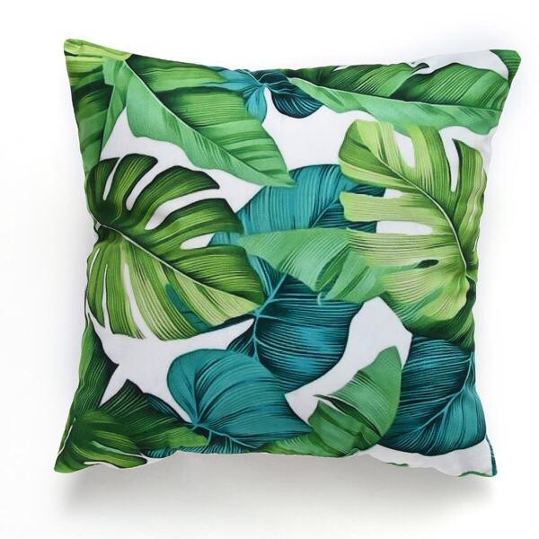 Plant Print Cushion Cover