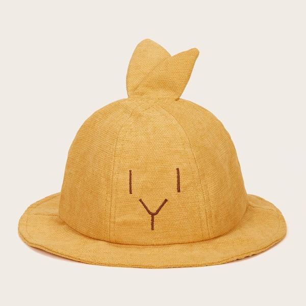 Toddler Kids Ear Design Bucket Hat
