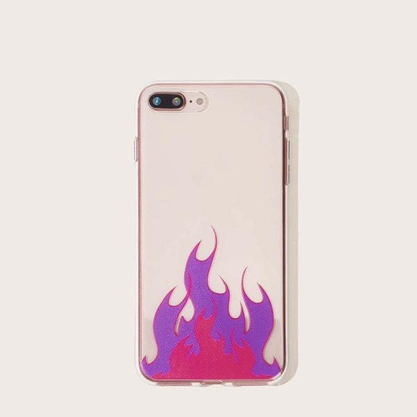 Fire Pattern iPhone Case