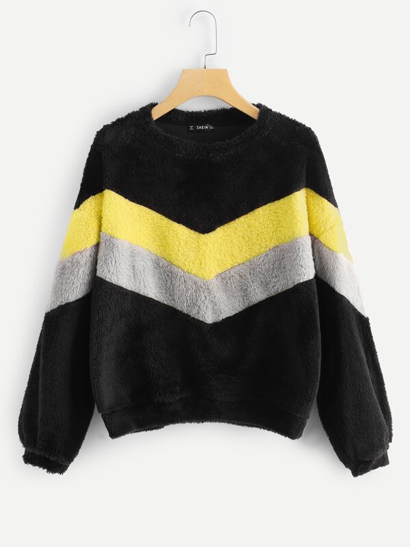 Plus Cut And Sew Fleece Sweatshirt