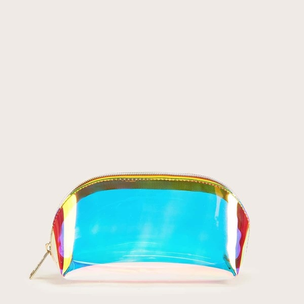 SHEIN Holographic Makeup Bag