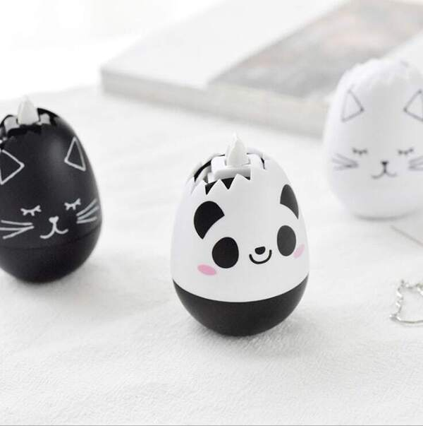 Cute Animal Egg Correction Tape 1pc