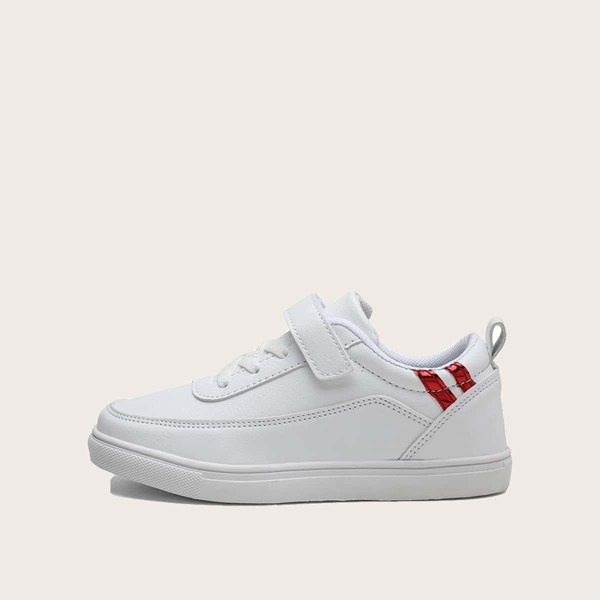 Girls Velcro Strap Low Top Sneakers