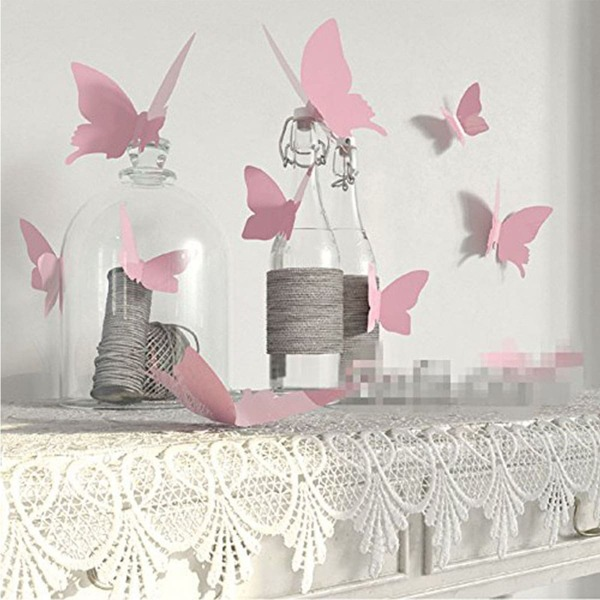 3D Butterfly Holiday Decoration 12pcs