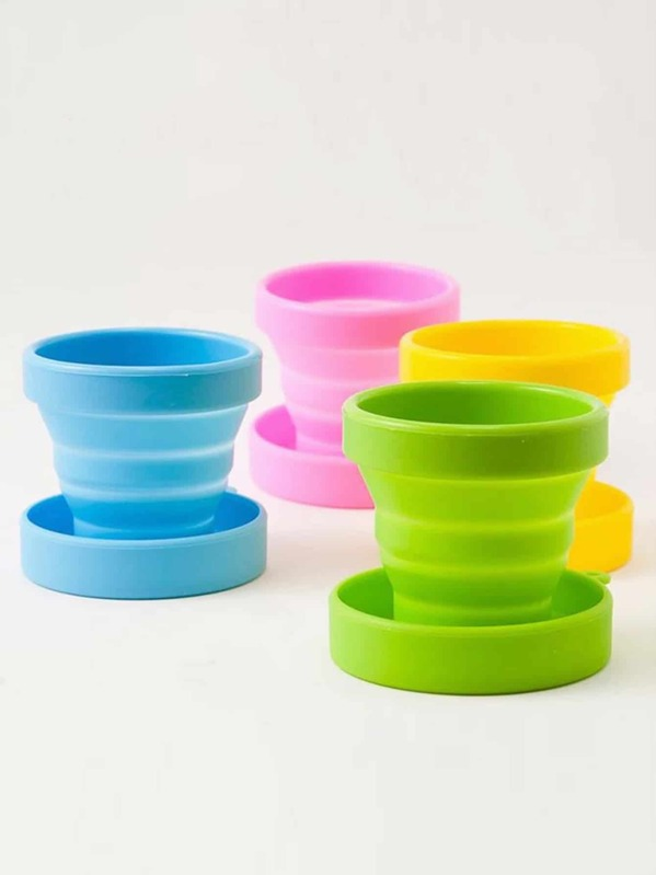 Travel Foldable Silicone Cup 1pc