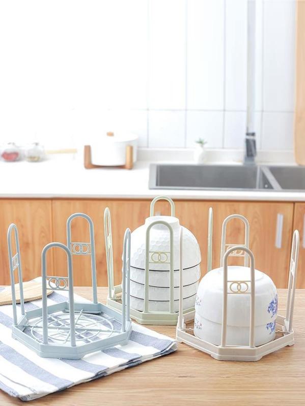 Kitchen Bowl Drain Rack 1pc