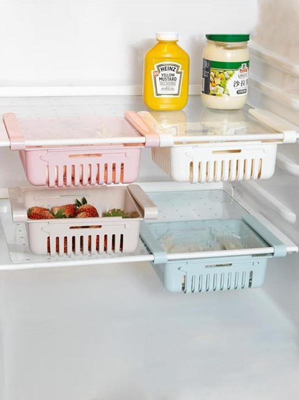 Refrigerator Stretchable Storage Basket 1pc