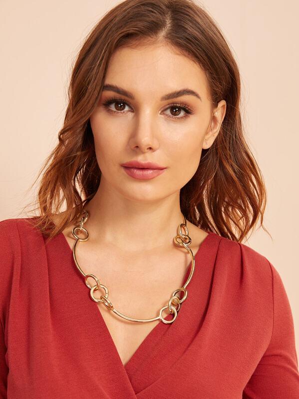 Link Decor Necklace 1pc