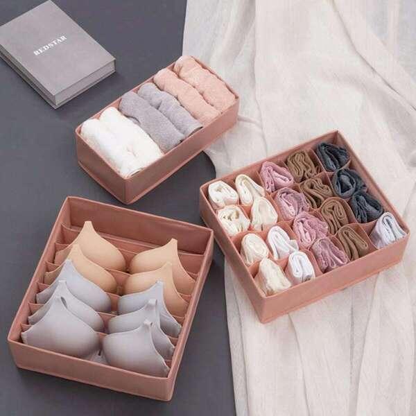 Underwear Storage Box Set 3pcs