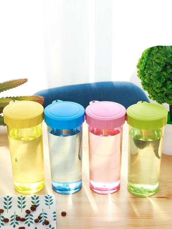 1pc Portable Plastic Water Bottle