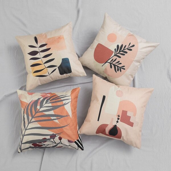1pc Art Painting Cushion Cover