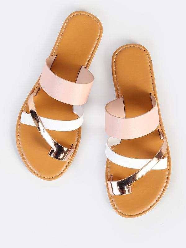 57fb0cb42 Multi Toe Ring Sandals BLUSH MULTI