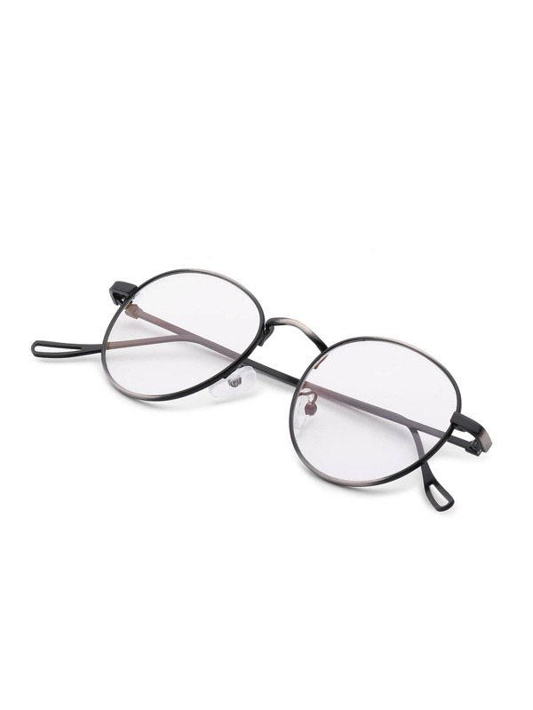 761398da2 نظارات اطار فضي بعدسات دائريه | شي إن