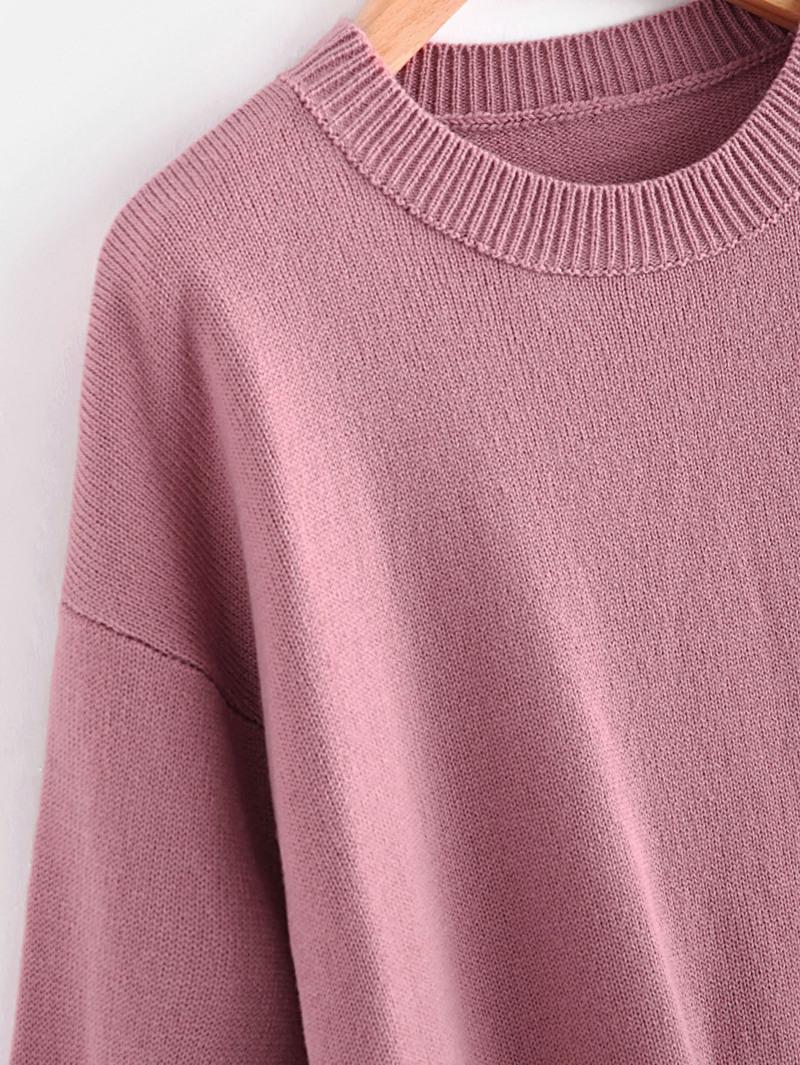 Jersey con manga de farol con pompones