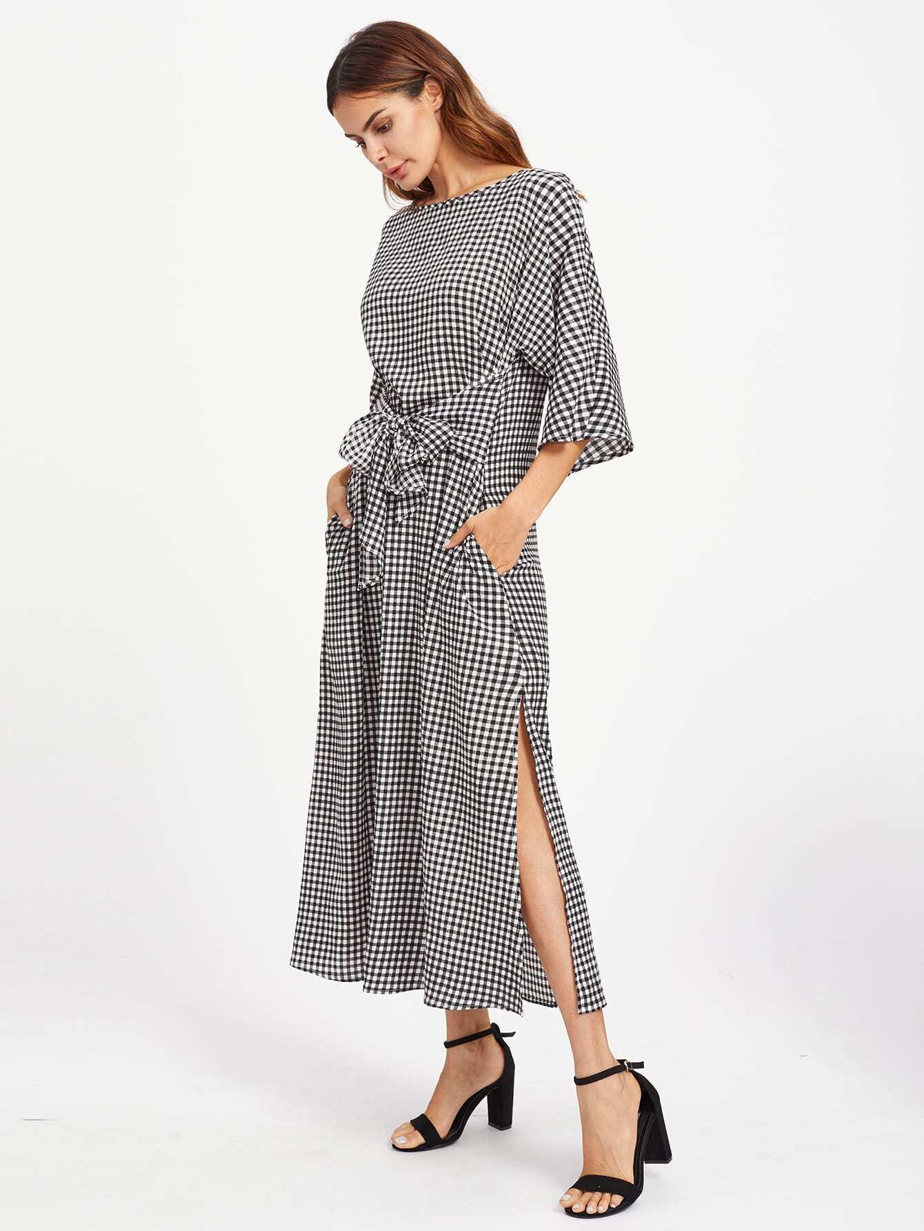 Hosiery Asymmetric Hem Sleeveless Round Neck Chiffon Dress zulily