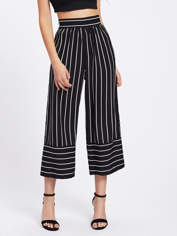 eab099bac4a Striped Wide Leg Pants