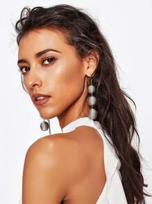 Triple Tier Drop Earrings