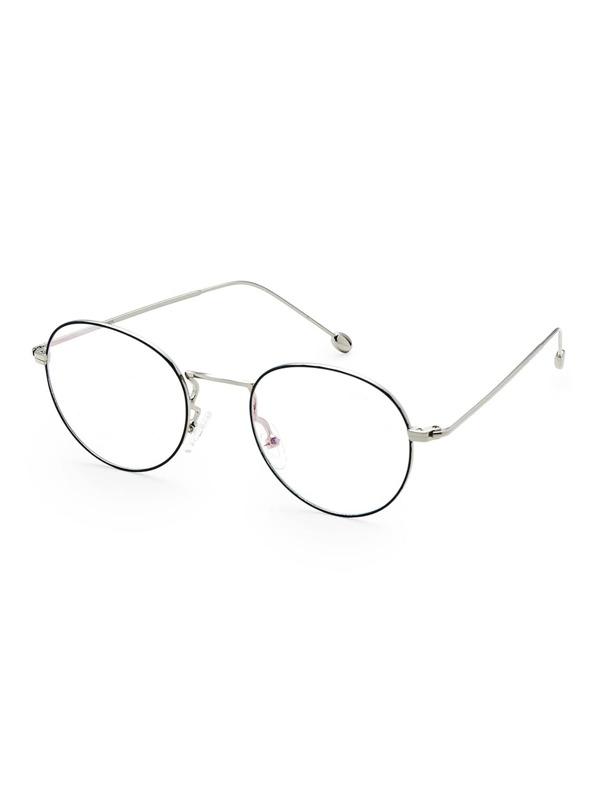 Gafas de sol con montura fina y lentes transparentes -Spanish SheIn ...
