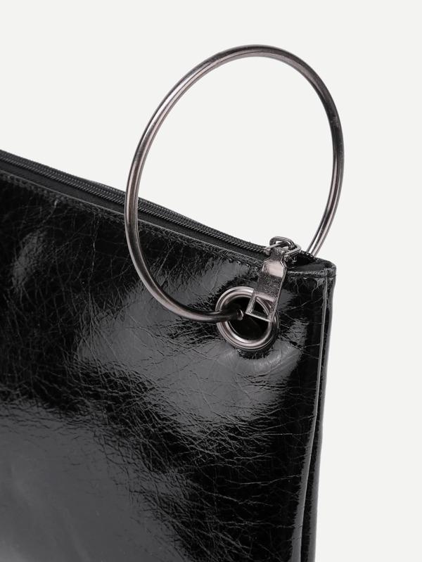 d579cddb58 Cheap Ring Handle PU Clutch Bag for sale Australia | SHEIN