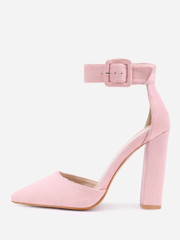 de80d87062 Cheap Pointed Toe Ankle Strap Block Heels for sale Australia   SHEIN