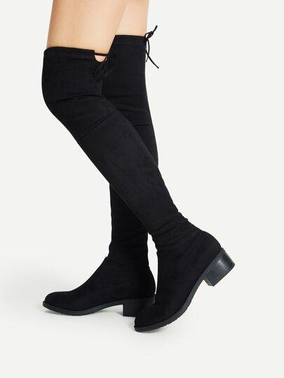 cf10e2cdf1 Página principal · Zapatos · Botas  Botas altas ajustadas - negro