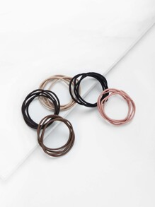 5 Color Hair Tie 20pcs
